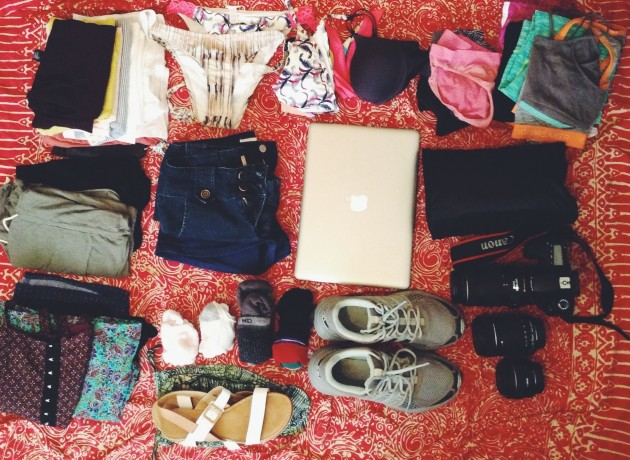 3a93f01c4a19 Packing List for Three Months of Backpacking in SE Asia
