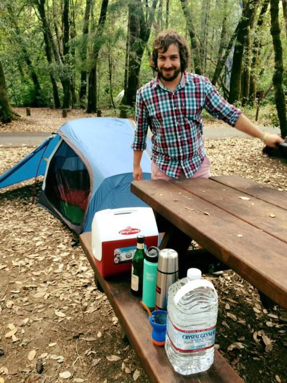 camping in leggett mendocino